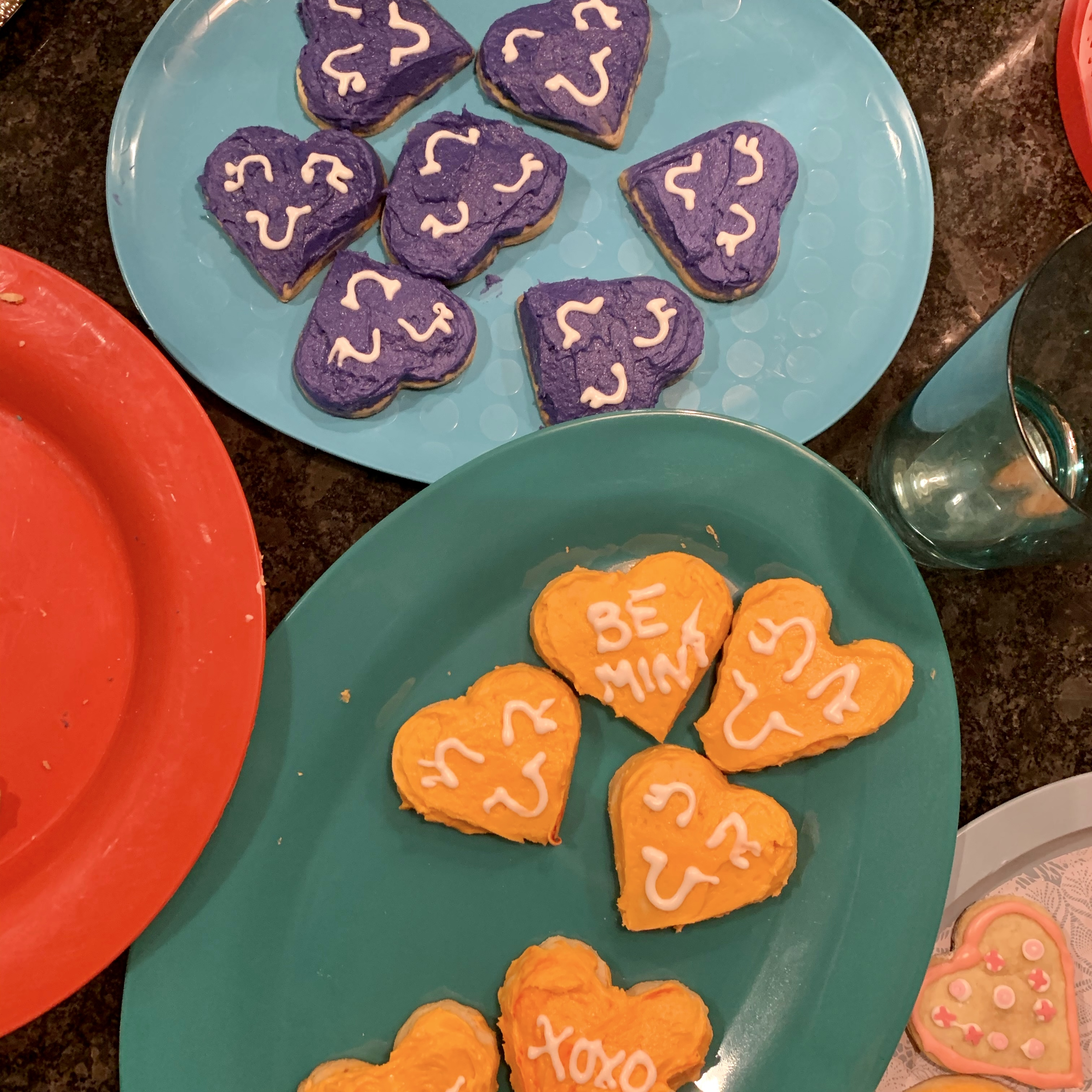 No Roll Sugar Cookies abytheway