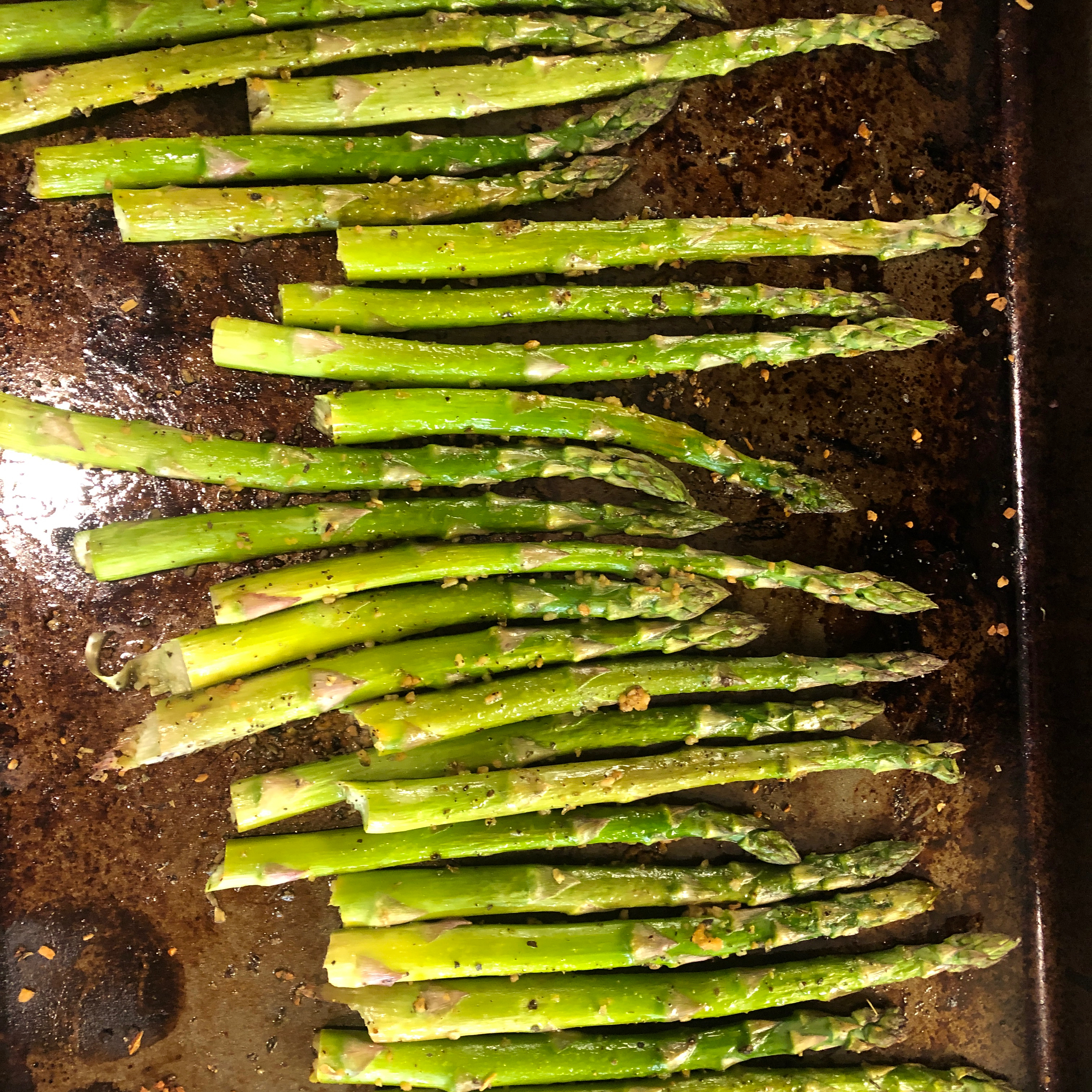 Quick and Easy Baked Asparagus Mjjames