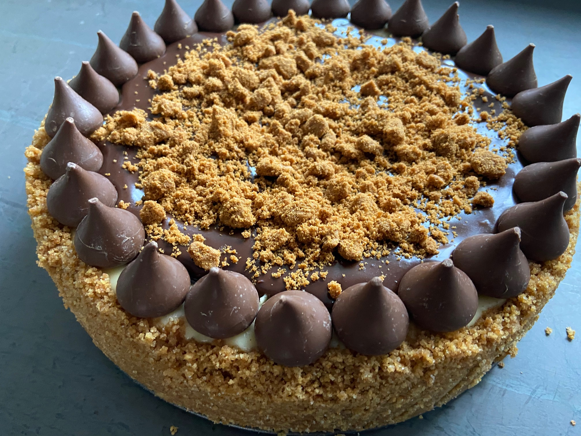 Cinnamon-Chocolate Chip Cheesecake AllrecipesPhoto