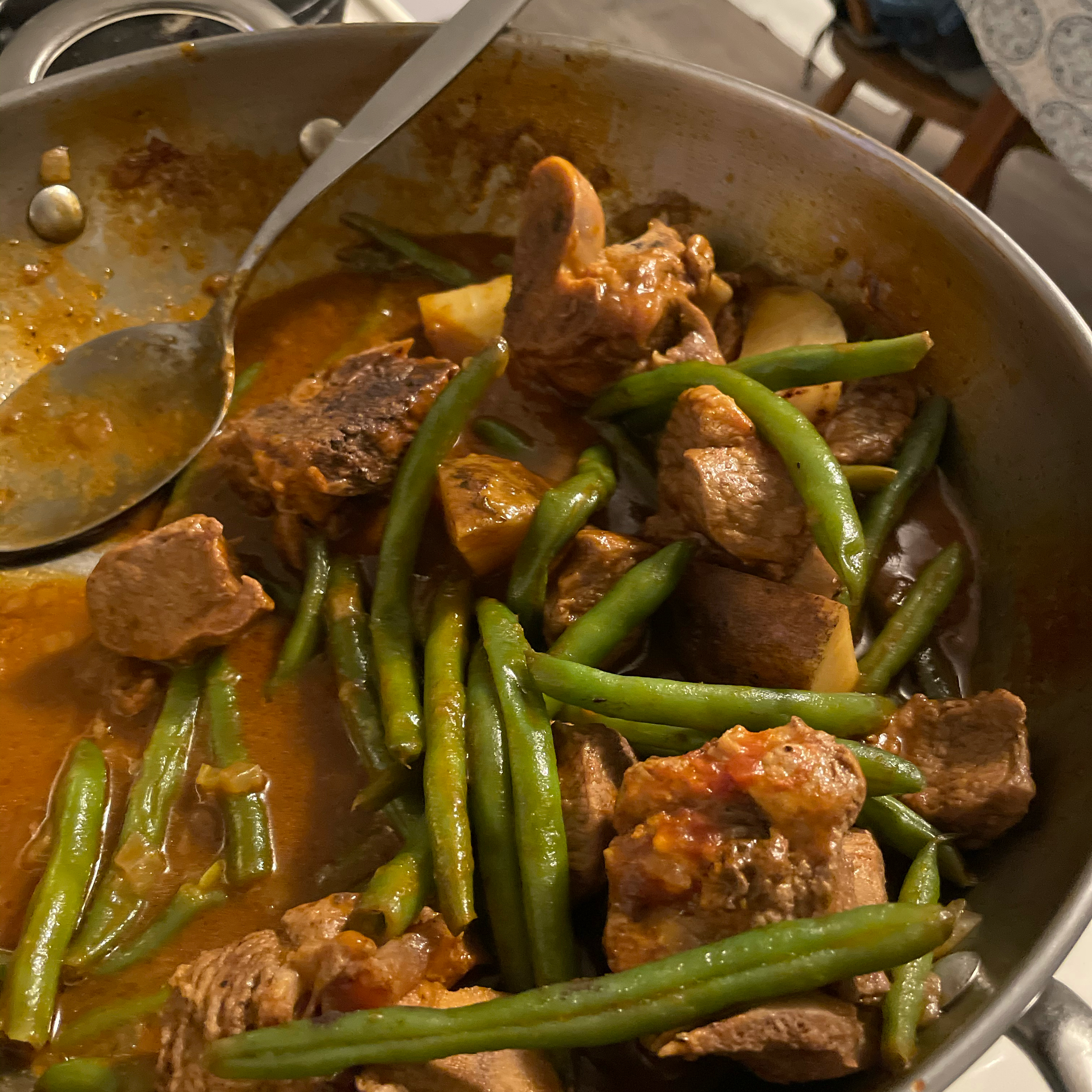 Lamb Stew with Green Beans stgettis