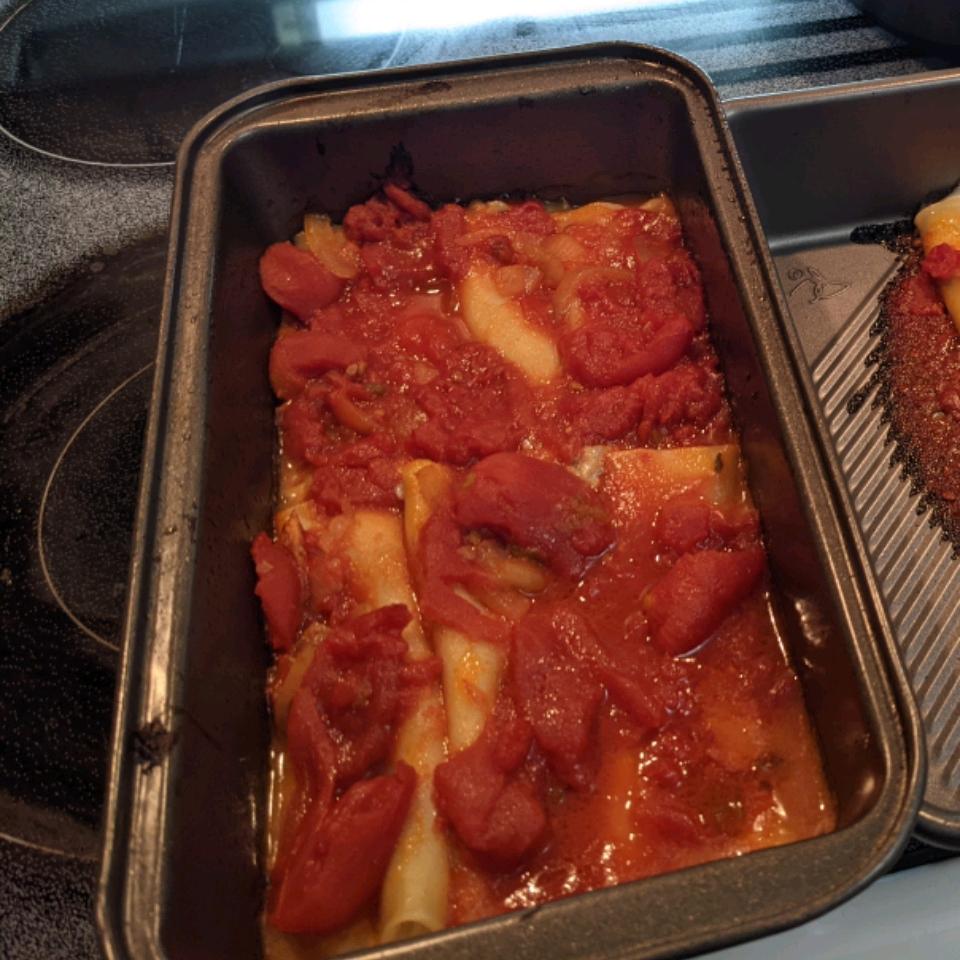 Italian Baked Cannelloni Jamie Marwick
