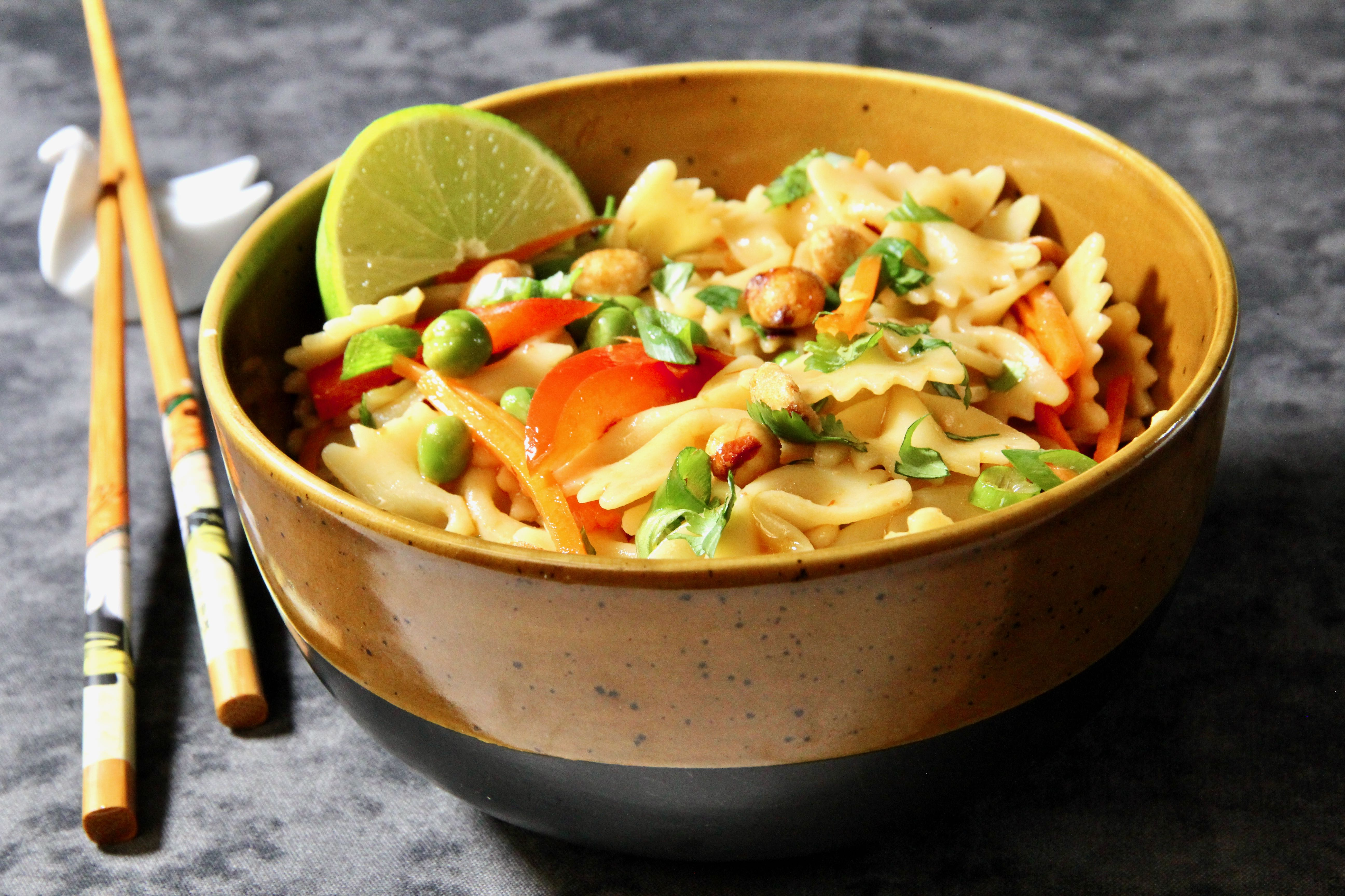 Spicy Thai Pasta Salad