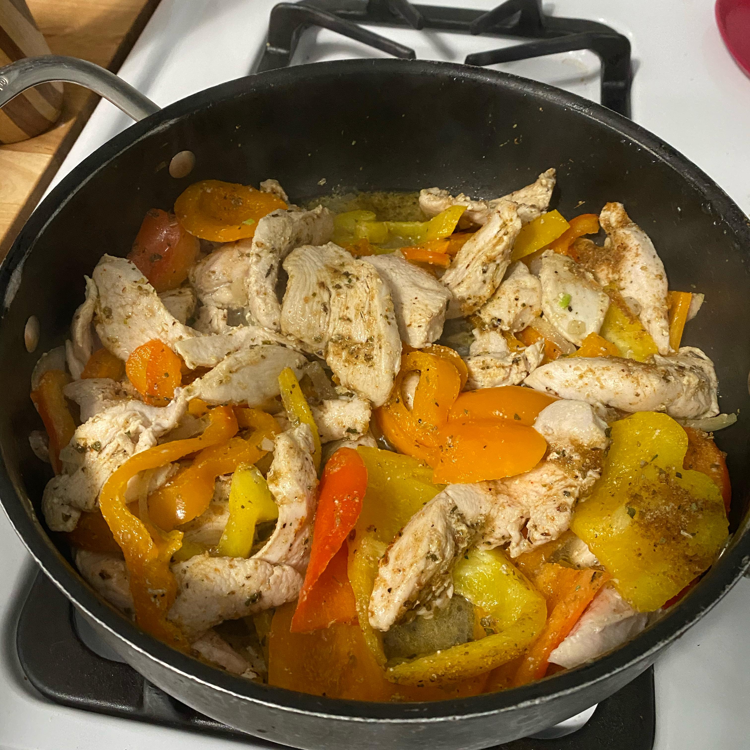 Chicken Fajitas from Mazola®
