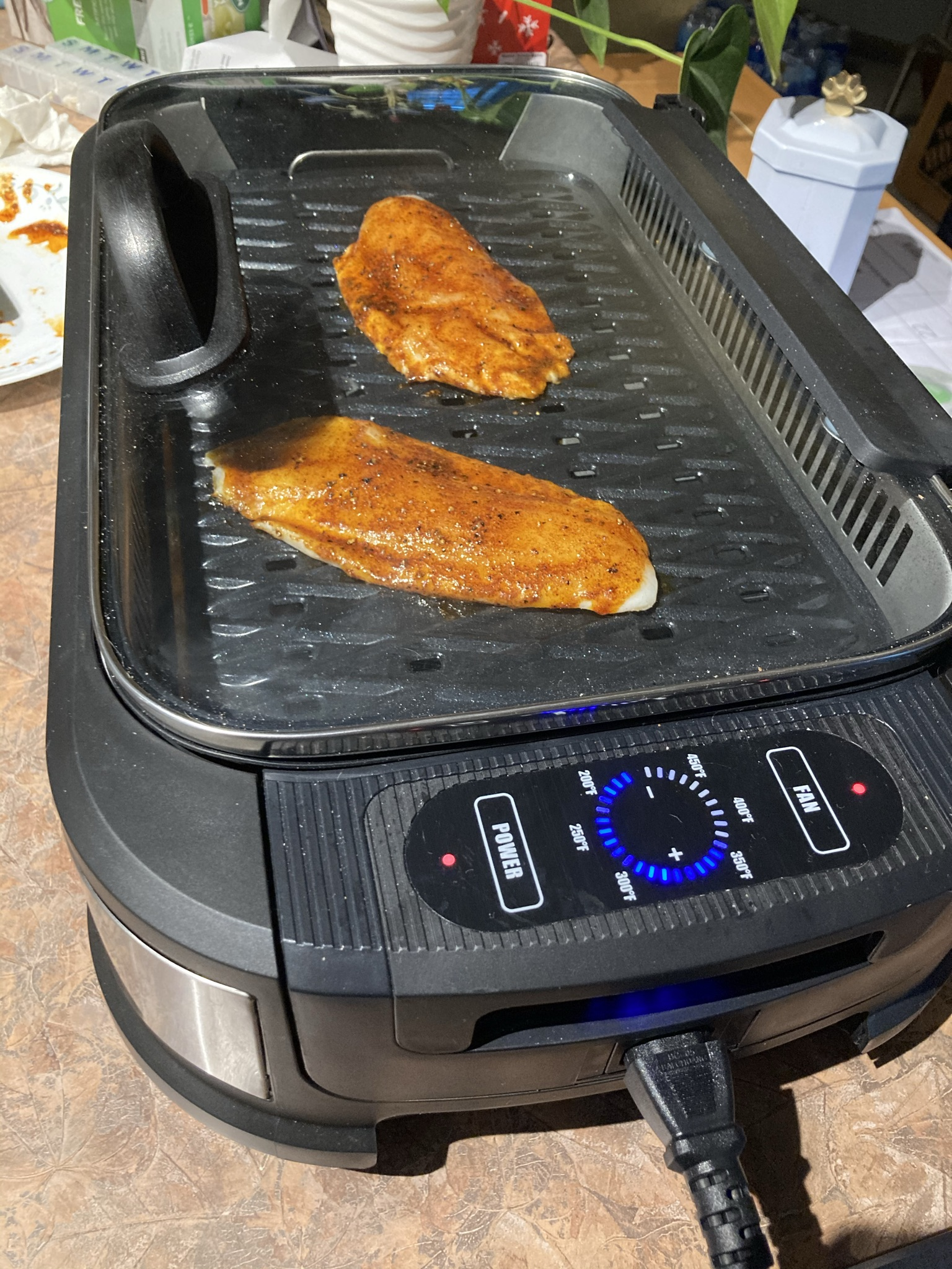 Grilled Tilapia with Smoked Paprika