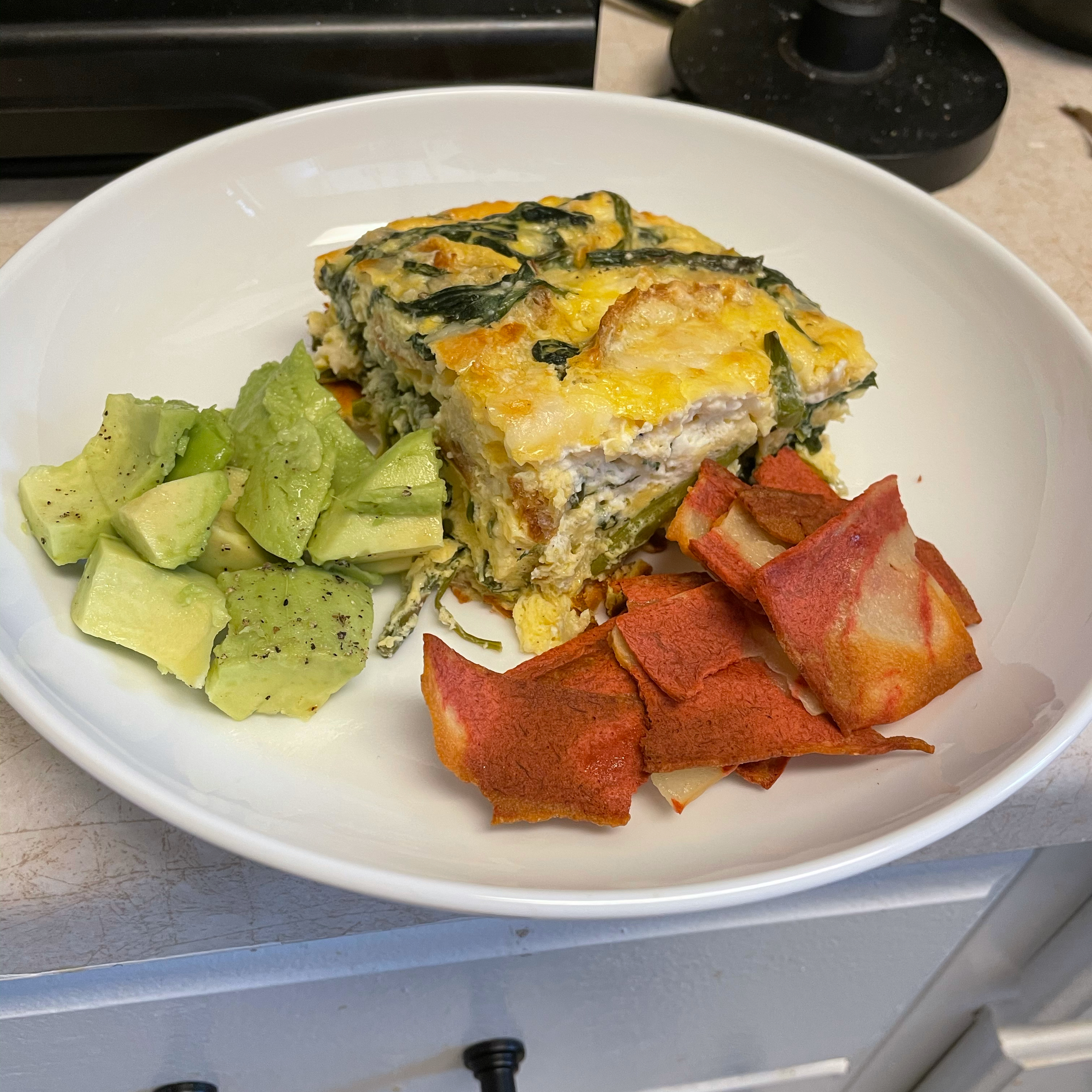 Hot or Cold Vegetable Frittata Gus Buttolph