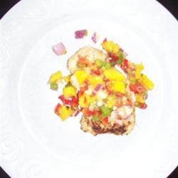Mango Salsa Chicken Lisa Livingstone Clark