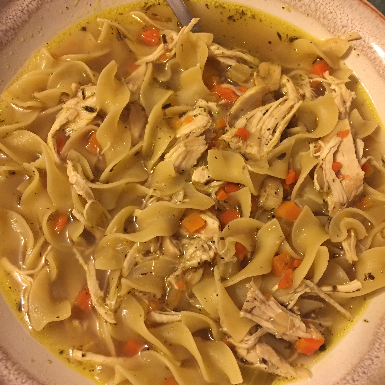 Instant Pot® Chicken Noodle Soup Erin Boucher