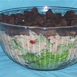 Layered Reuben Salad