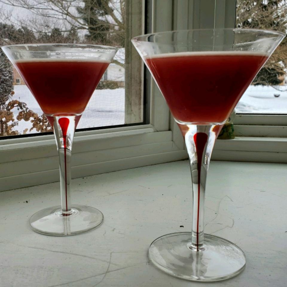 Blood Orange Martini cynmcc