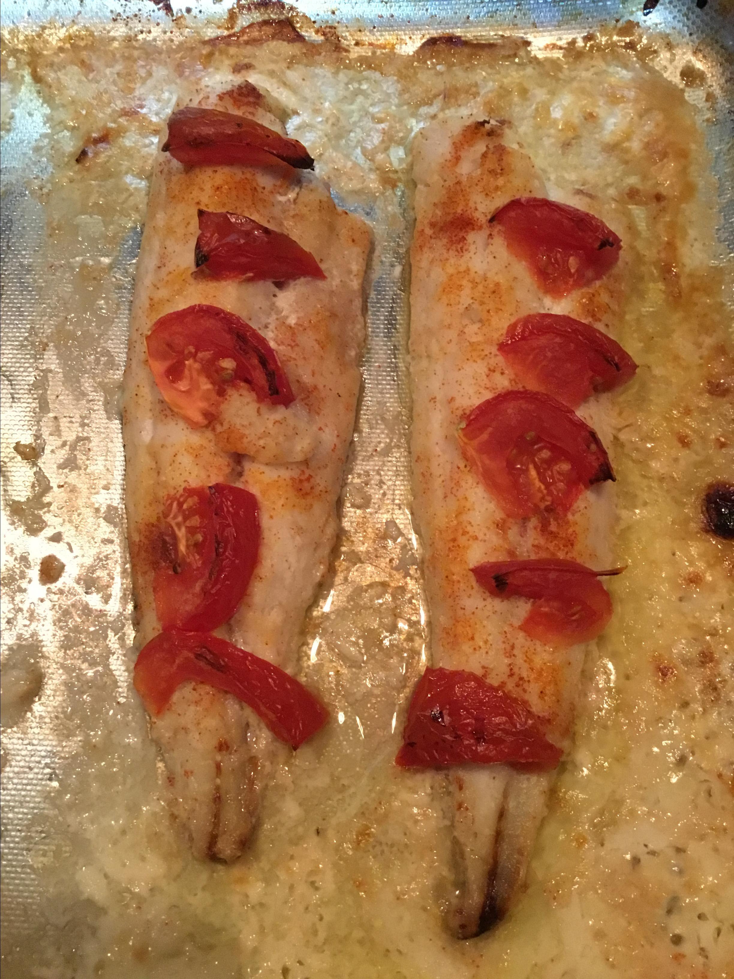 Baked Whiting Pinaynomad