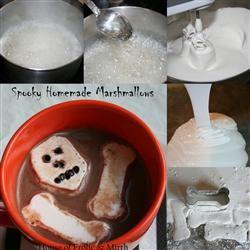 Spooky Homemade Marshmallows Jennifer Baker