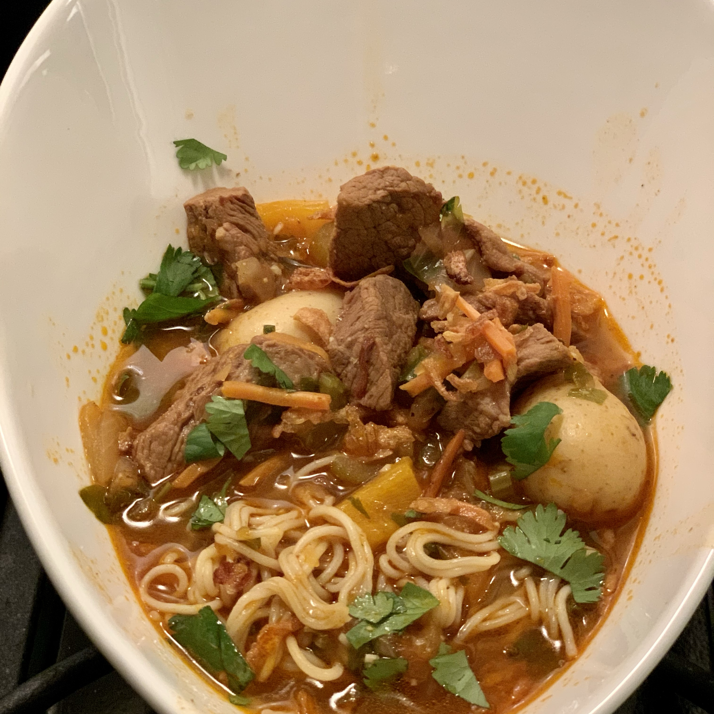 Lagman (Uzbek Noodle Soup) Sheryle D. Wells