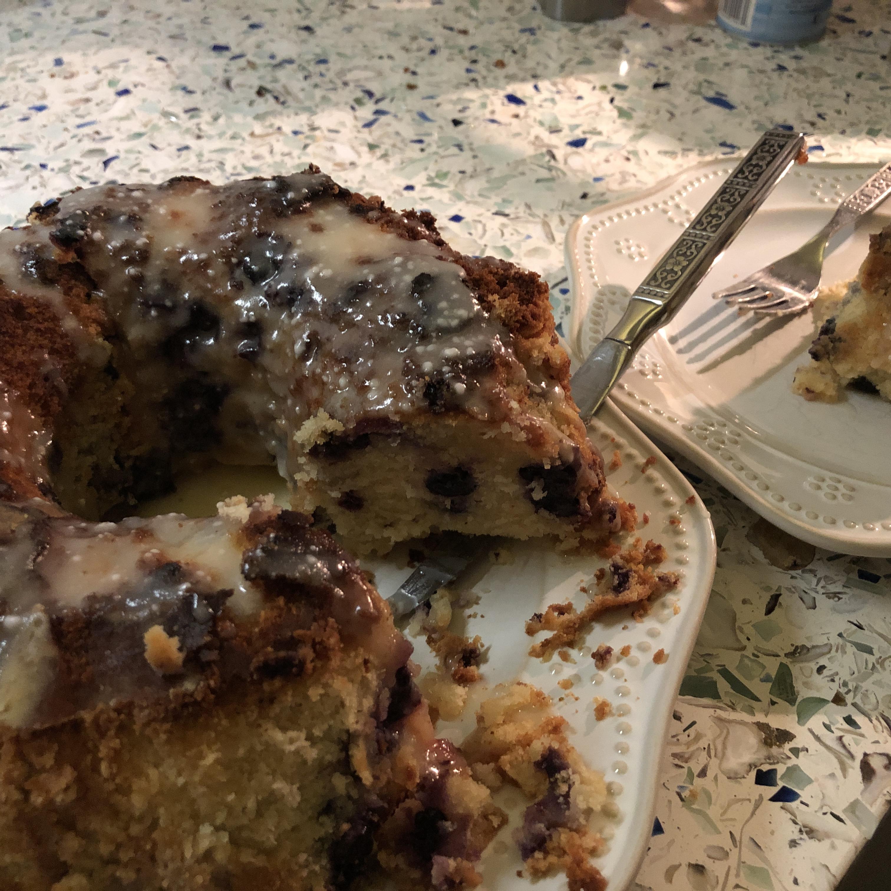 Lemon-Blueberry Bundt® Cake Mrs McManamon
