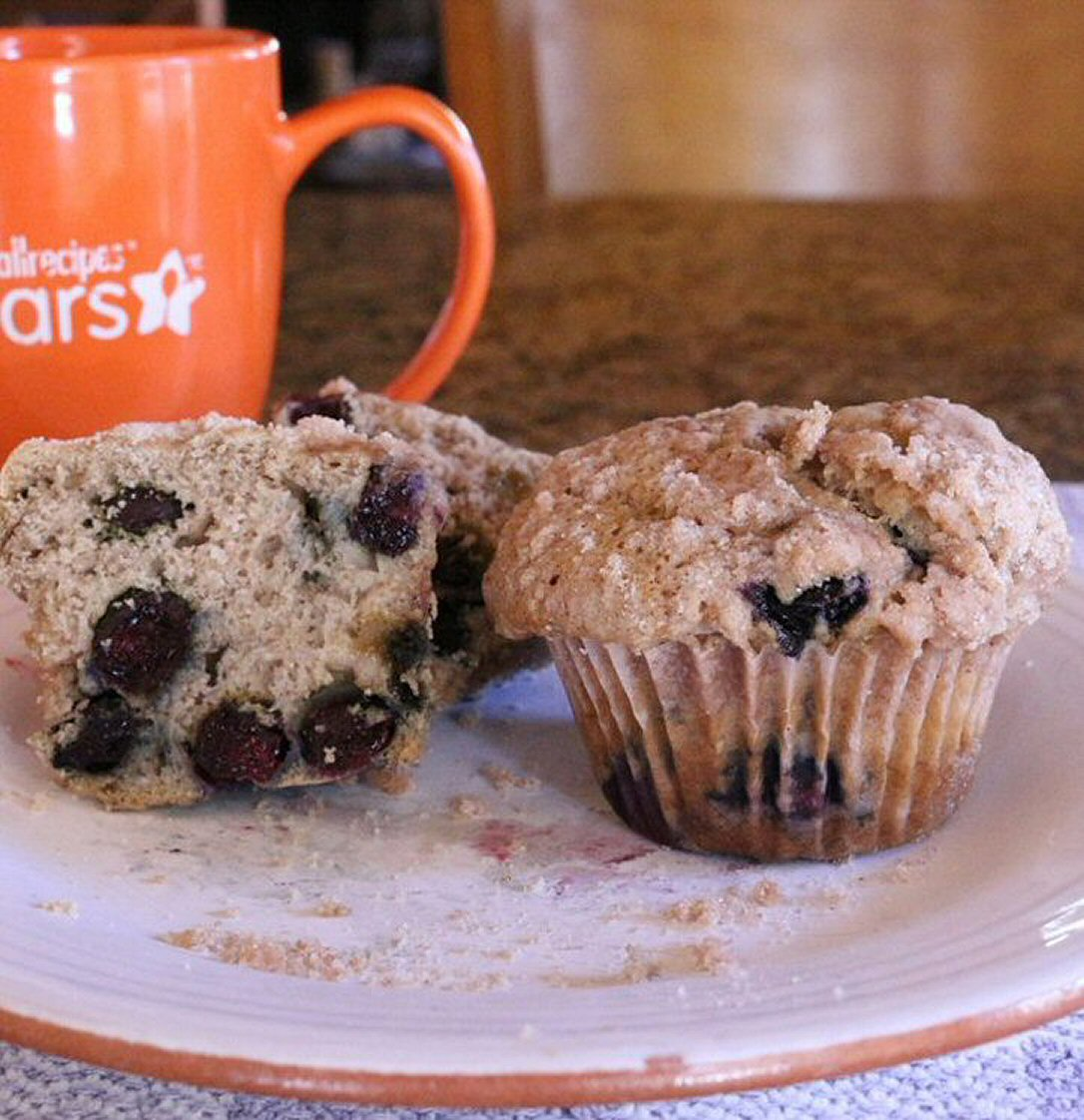 Sourdough Blueberry Muffins Cathy Myers