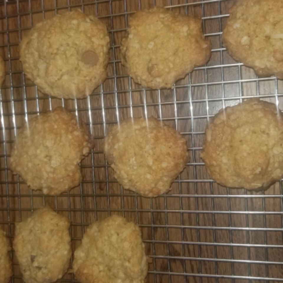 Coconut Oatmeal Cookies II David Thon