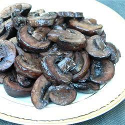 Pinot-Glazed Mushrooms