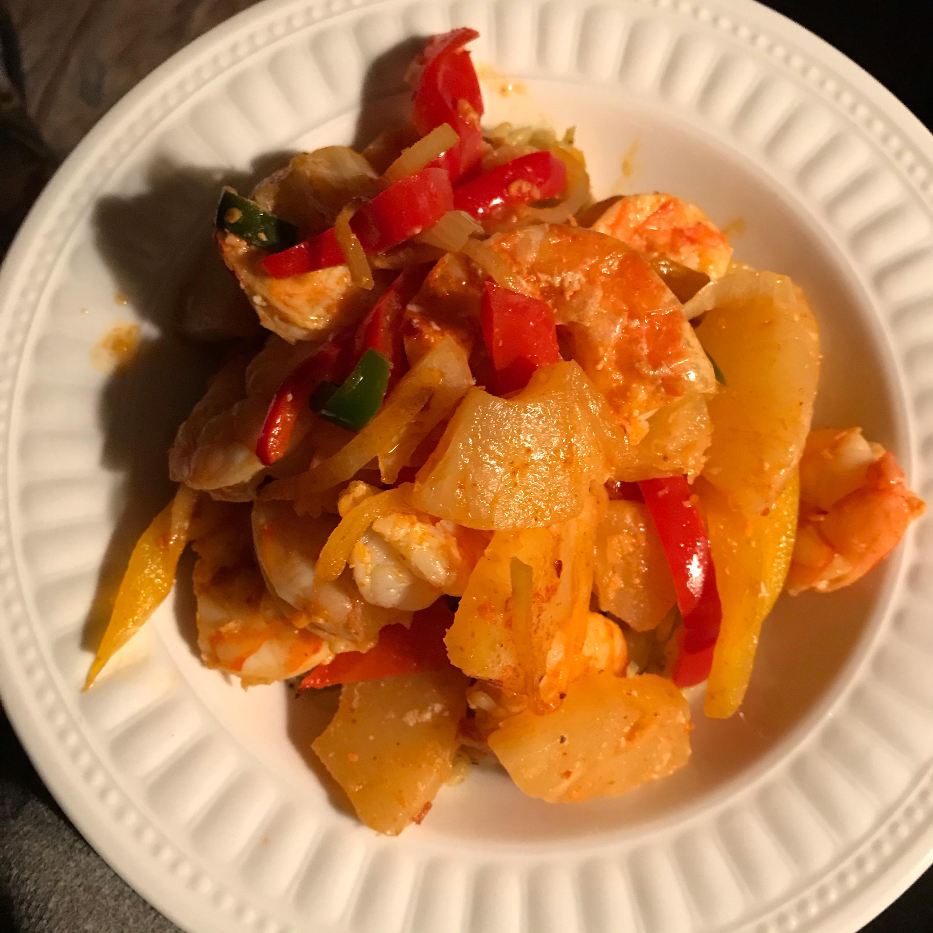 Sweet and Spicy Jerk Shrimp Deneen