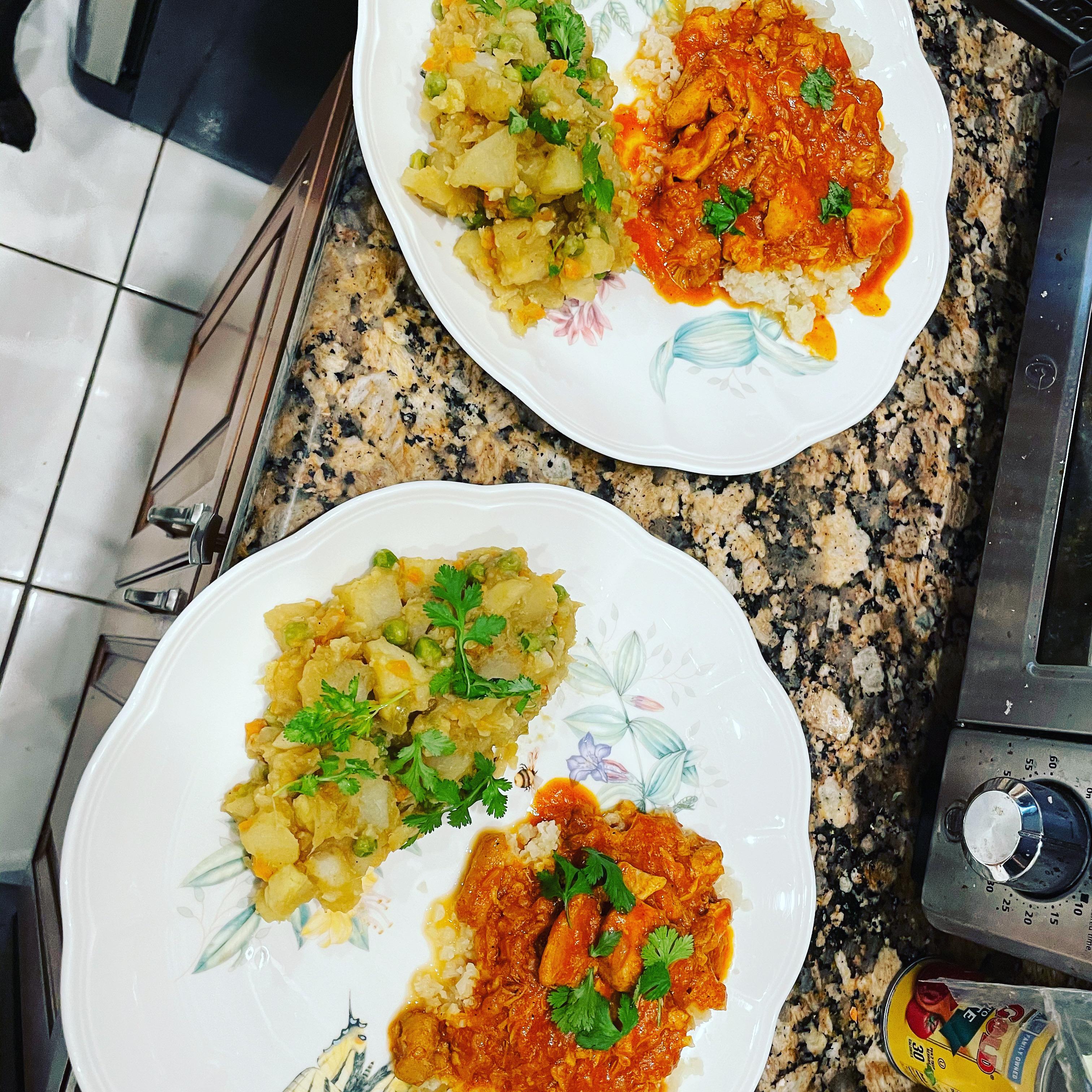 Indian Vegetable Bhaji Tanya