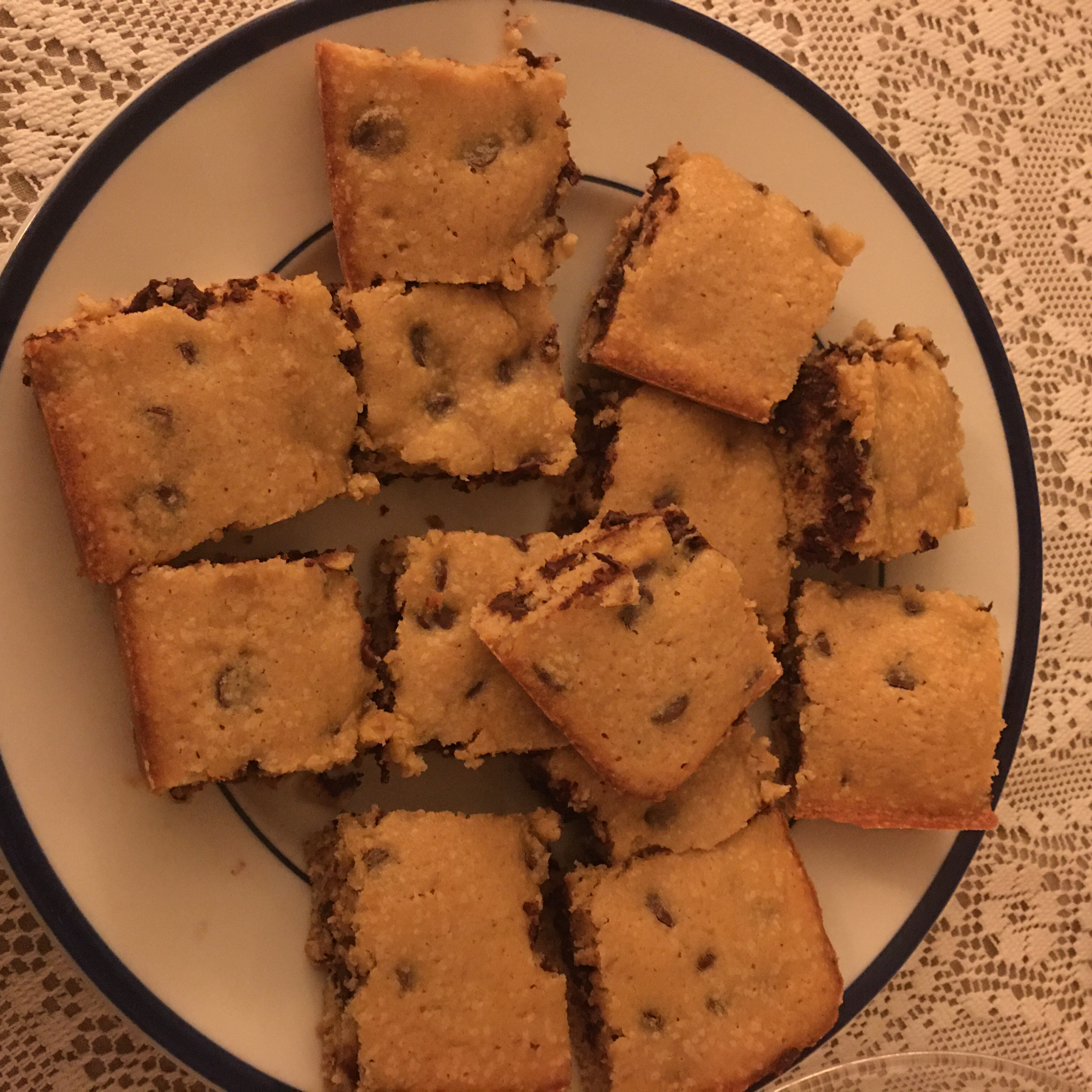 Chocolate Chip Cookie Cake Tracy Swedlow