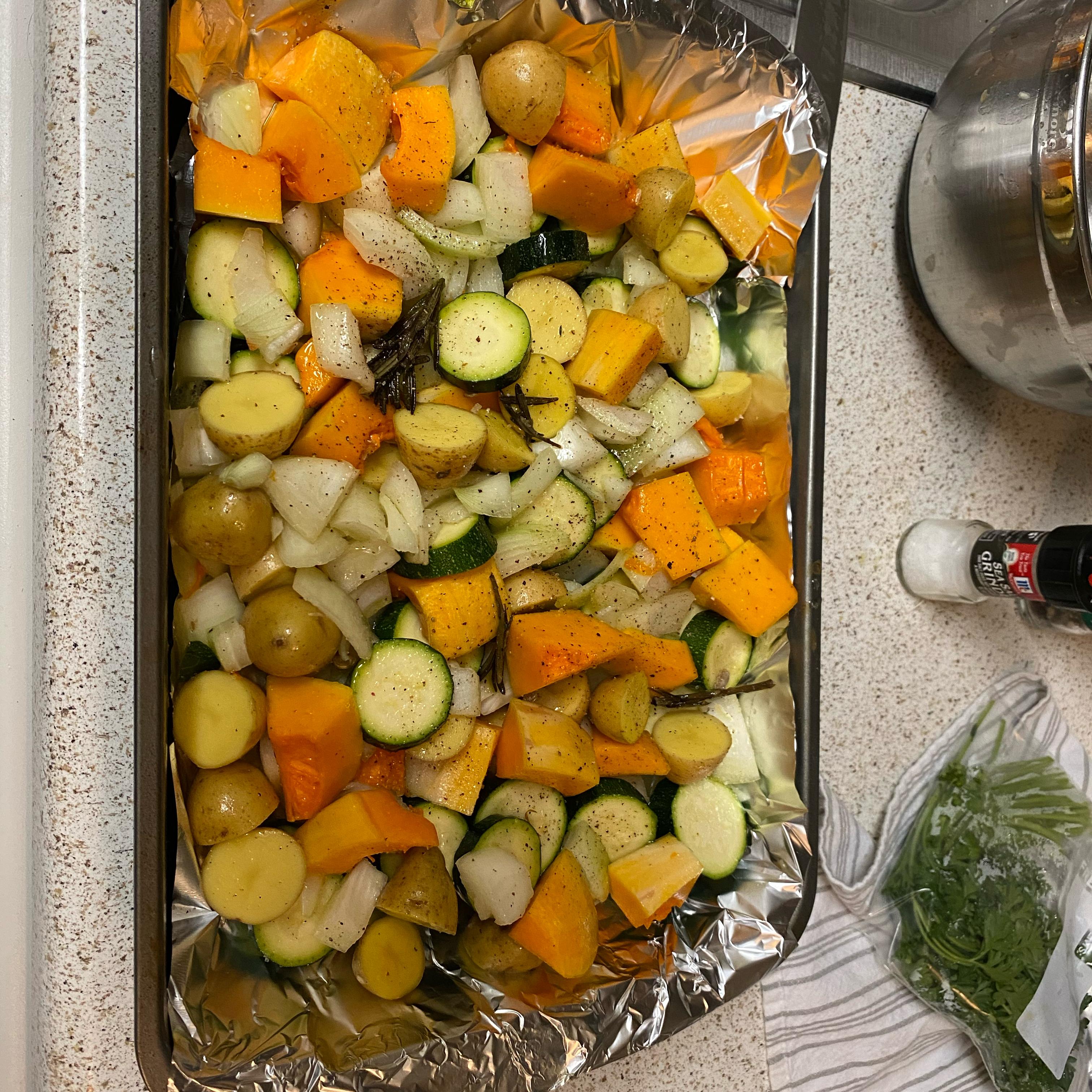 Sheet Pan Roasted Vegetables Kezia Kezia
