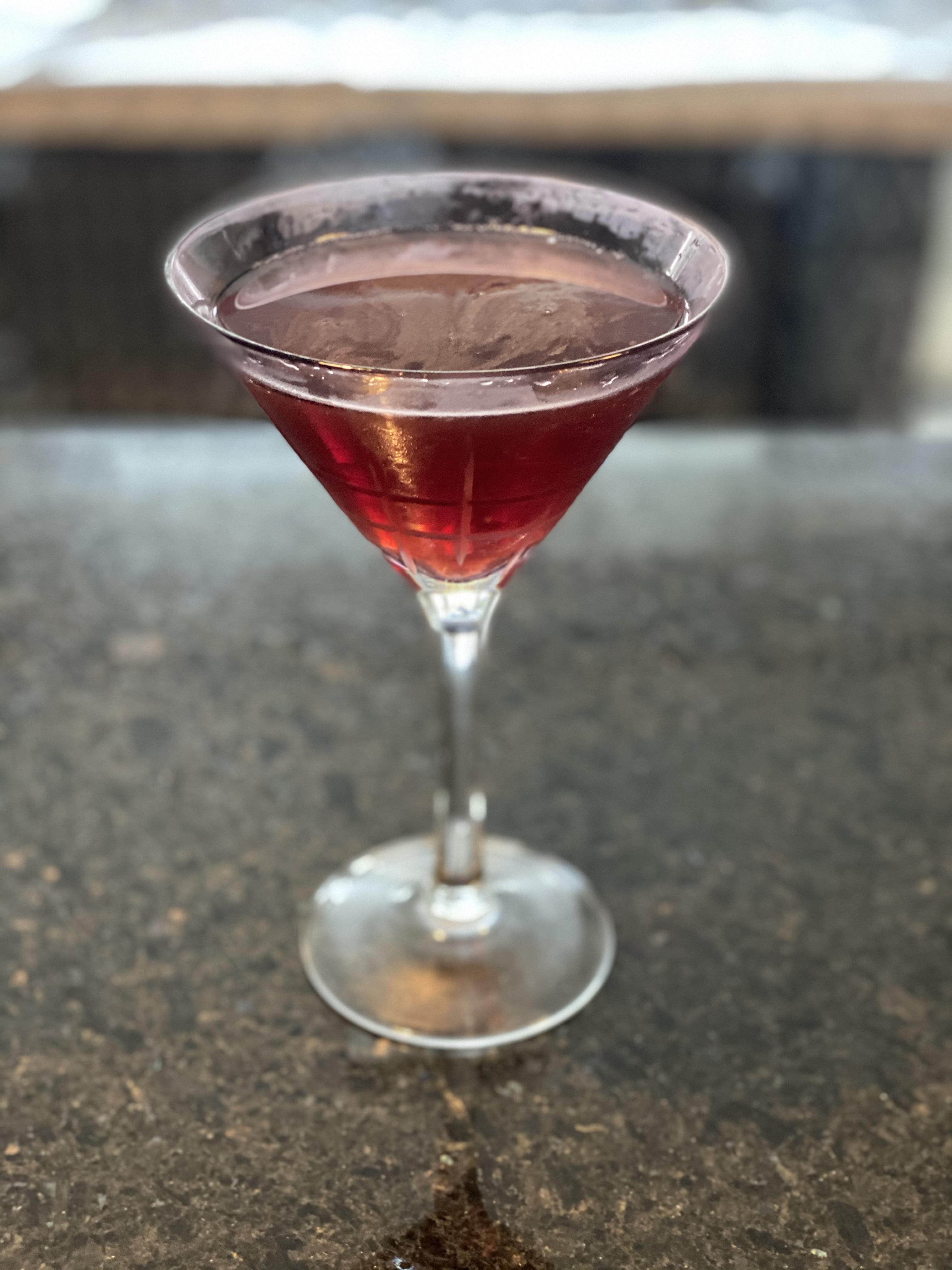 Concord Cosmopolitan Martini