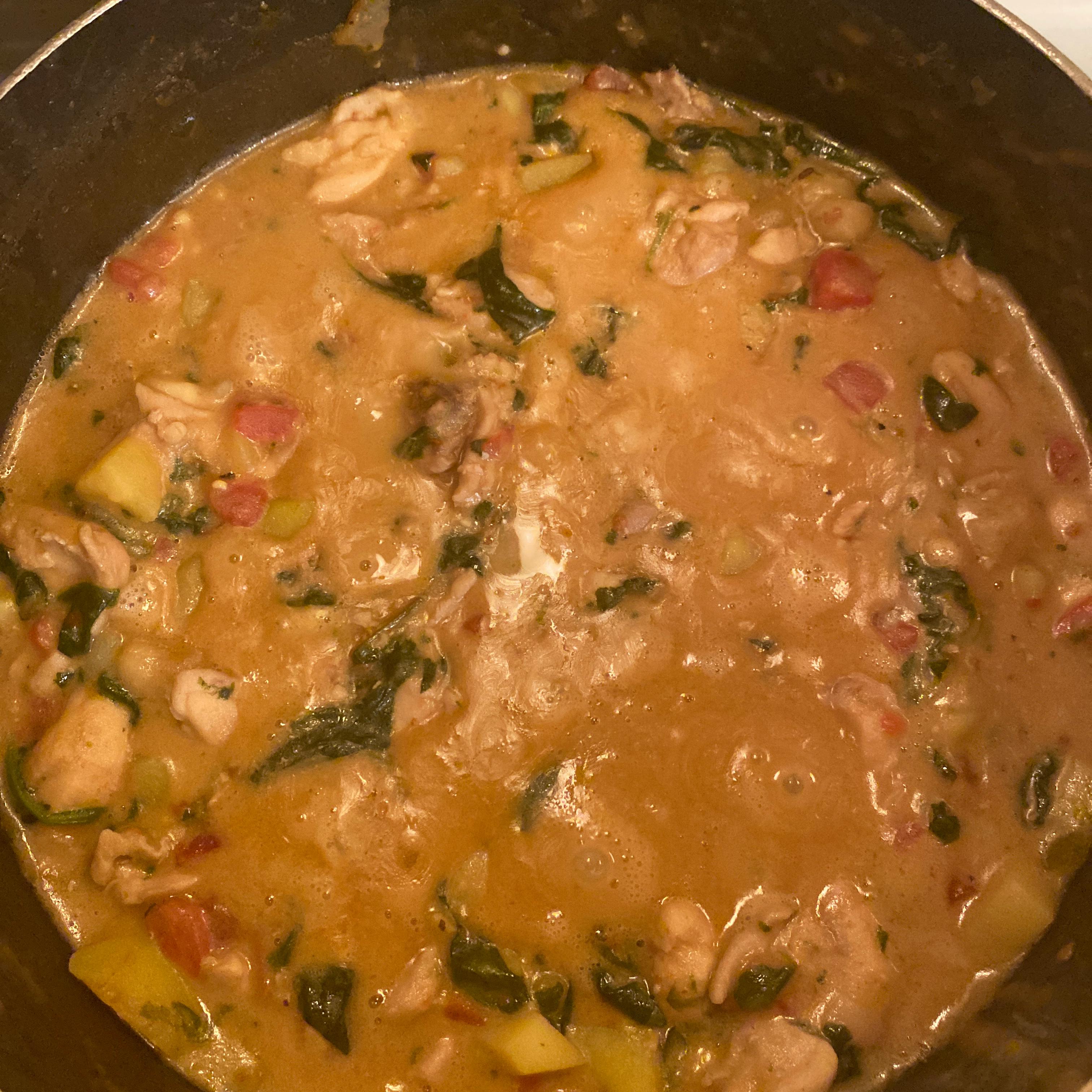 West African Chicken Stew xjames
