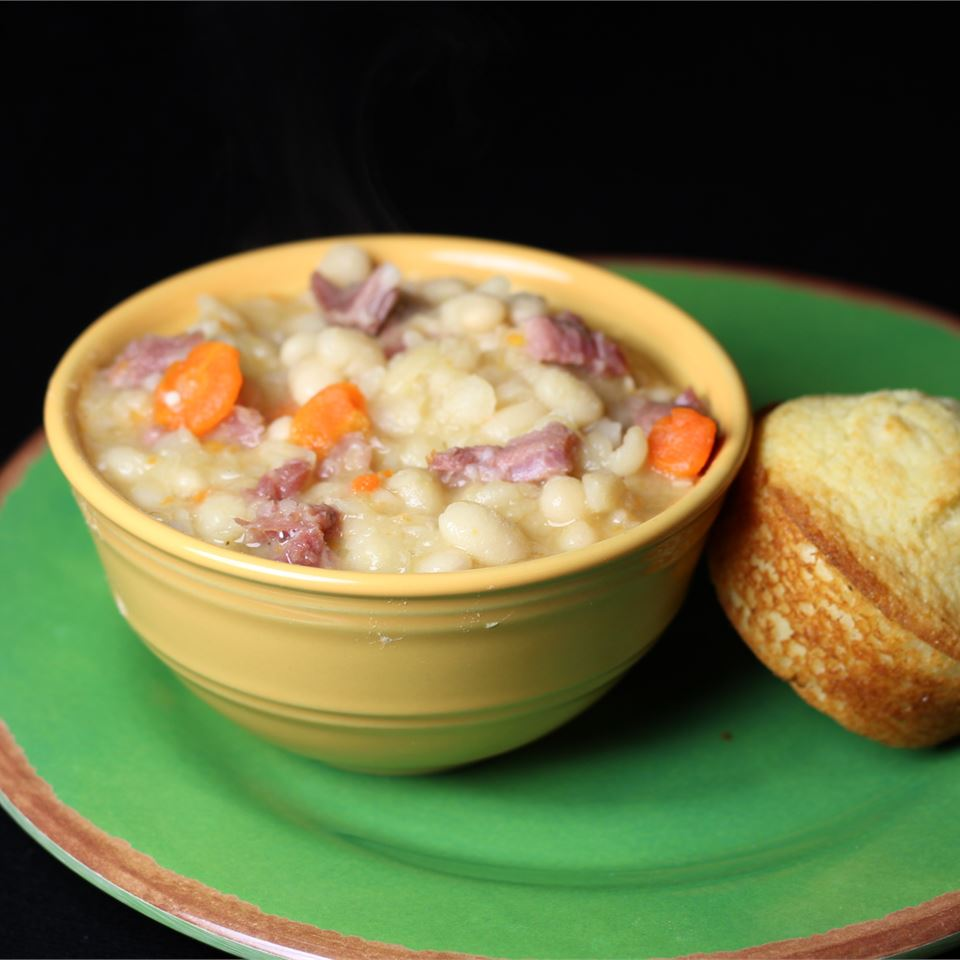 Basic Ham and Bean Soup J. A. McConville