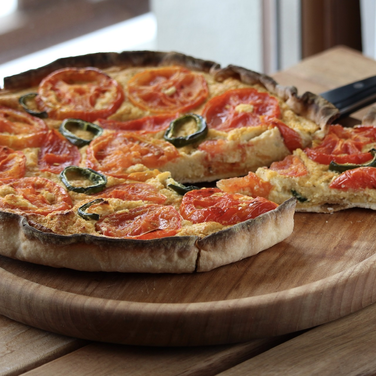 Plant-Based Tomato Tart