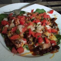 Mexican Chicken and Black Bean Salad Cassie