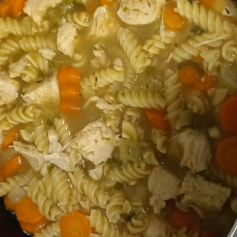 Chicken Noodle Soup LadyTee