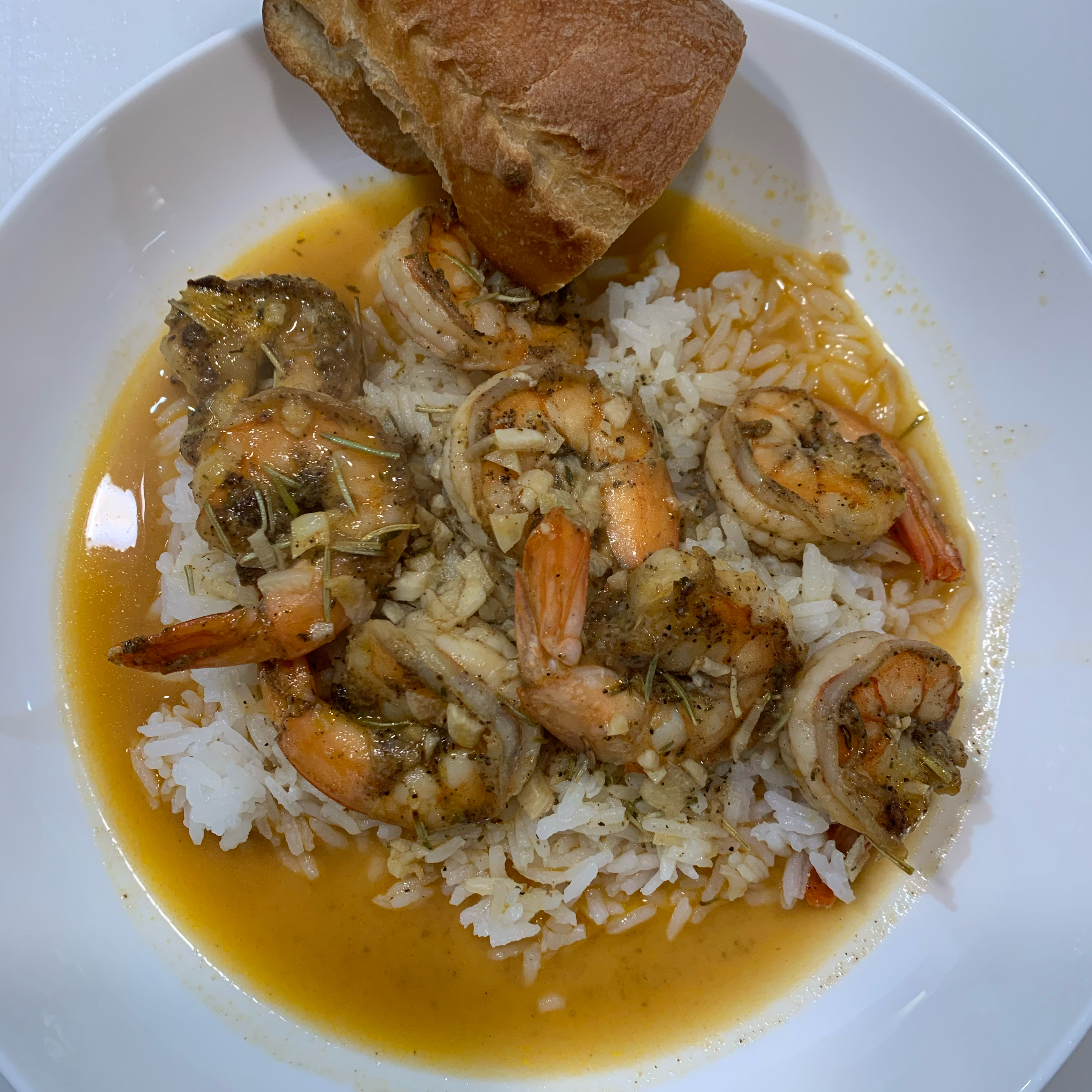 Chef John's New Orleans-Style Barbequed Shrimp Pat J