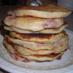 Strawberry Vanilla Pancakes formerbabybunny