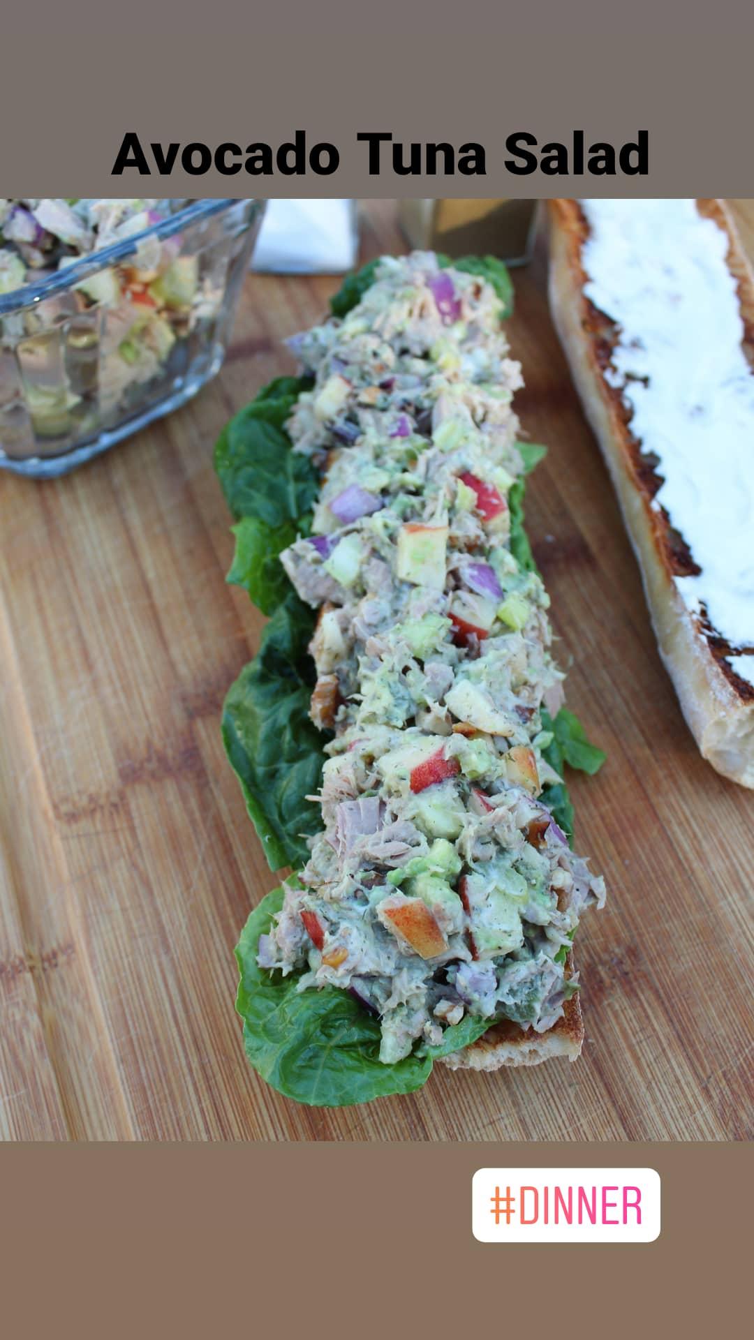Avocado Tuna Salad image