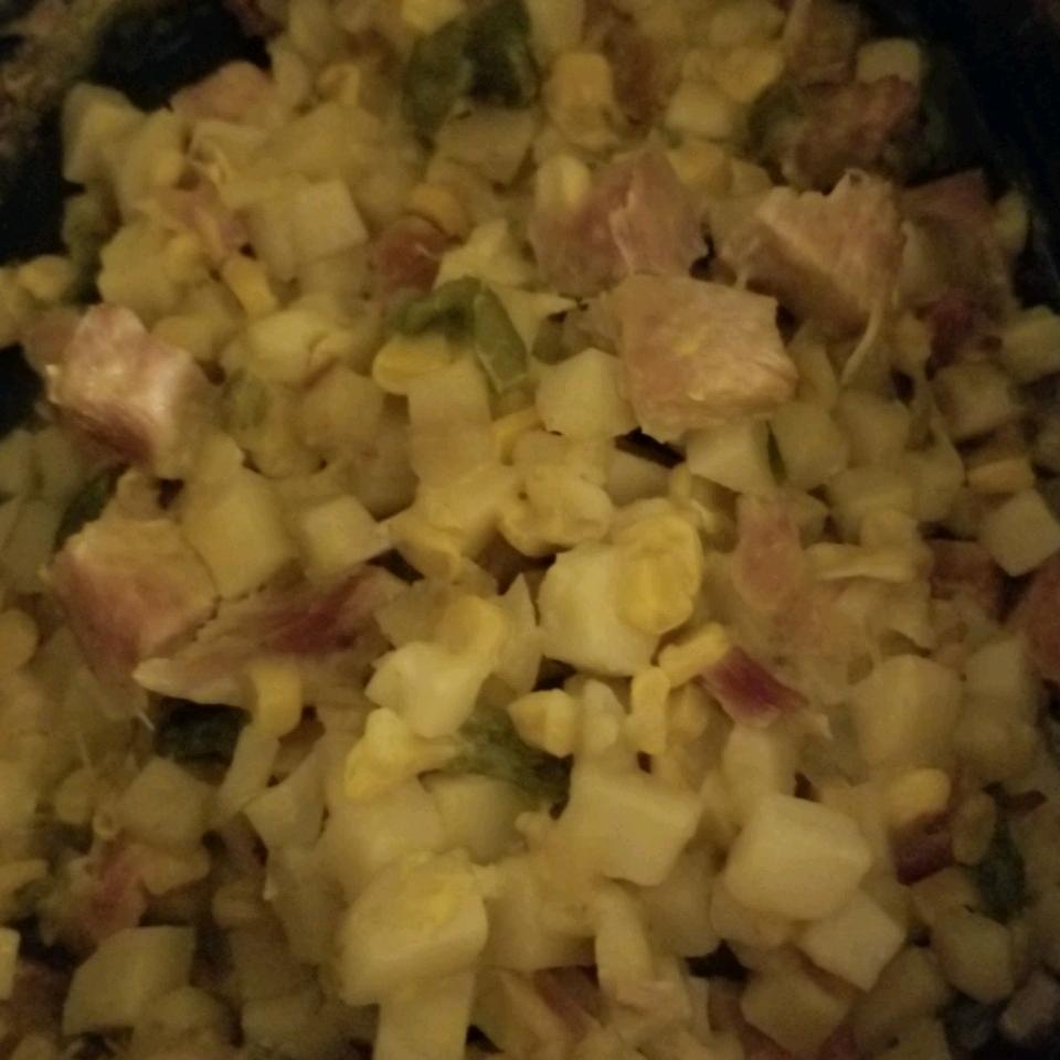 Corny Ham and Potato Scallop Kathy Weiland
