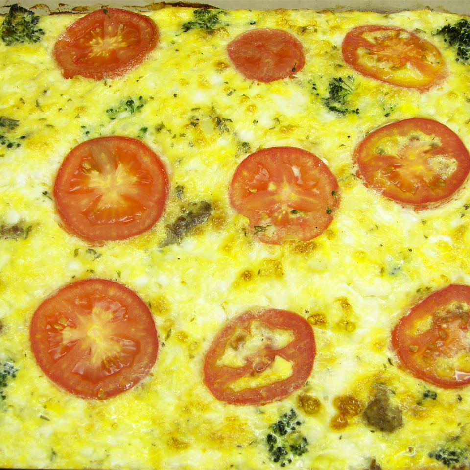 Broccoli and Cheese Brunch Casserole Karen R Boots