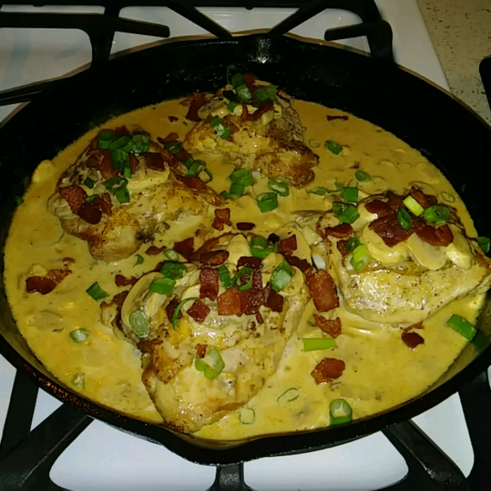 Keto Smothered Chicken Thighs