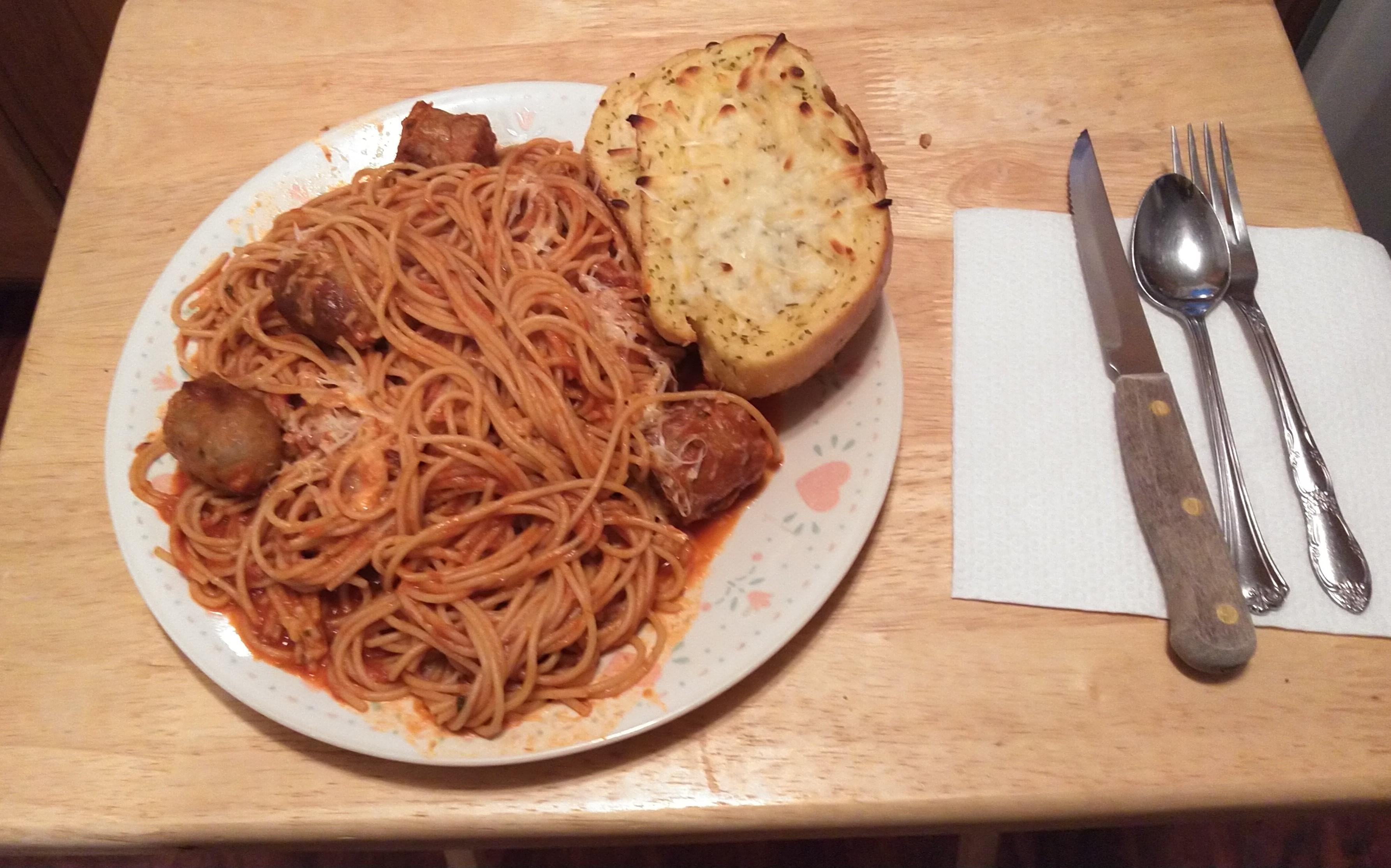 Italian Sausage Spaghetti Doug Jeffreys