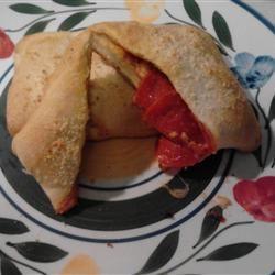 Crescent Pizza Pockets Cook and a half