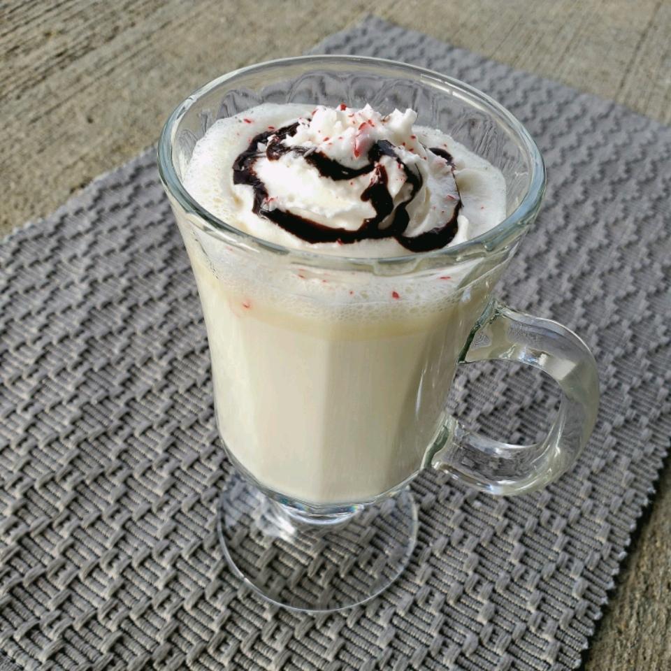 Homemade White Hot Chocolate Tammy Lynn