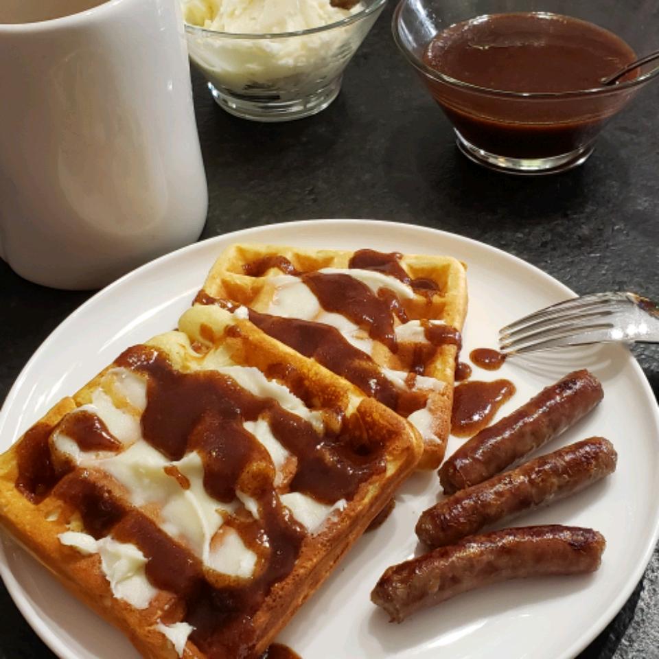 Cinnamon Roll Waffles delightful home by design
