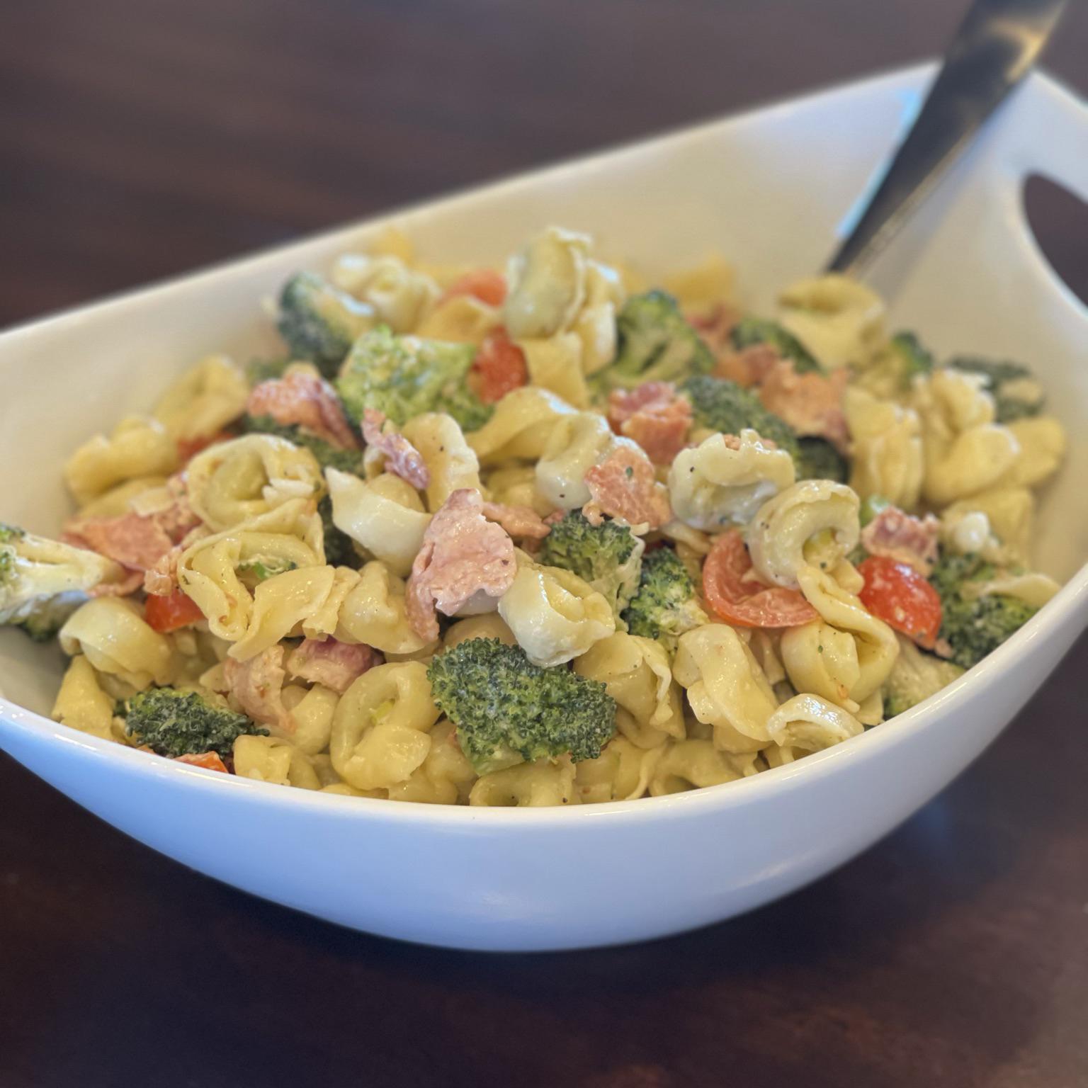 Barb's Broccoli-Cauliflower Salad ambieb14
