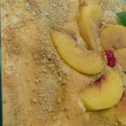 Fresh Peach Dessert Taslim
