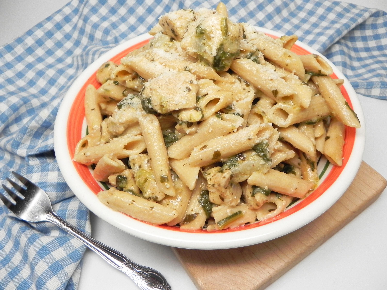 Instant Pot® Chicken Florentine Pasta