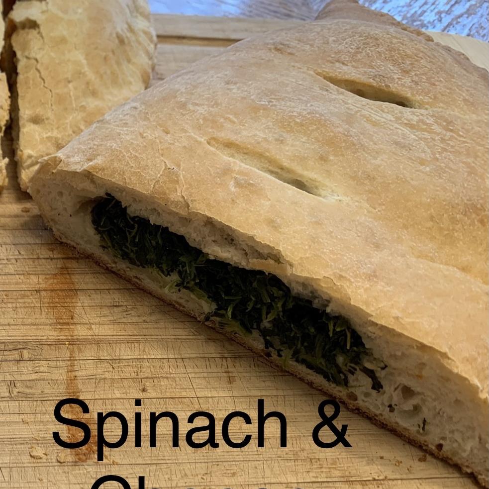 Unbelievable Spinach Calzones