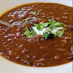 black bean and tomato soup recipe