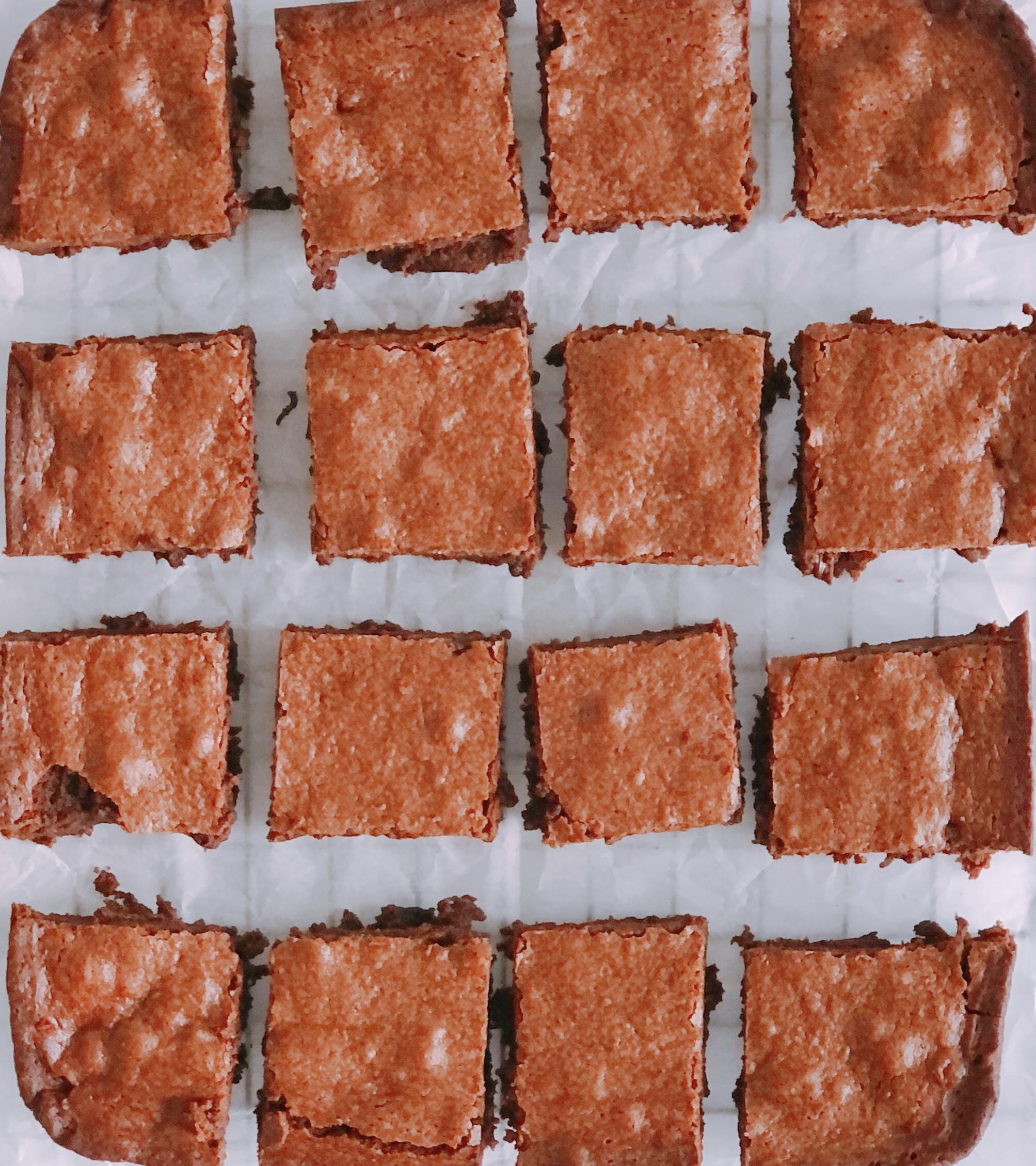 Grand Marnier Brownies