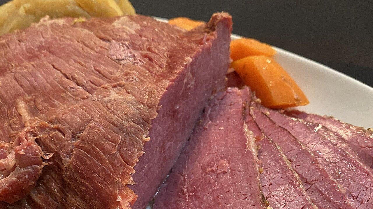 Caramelized Corned Beef