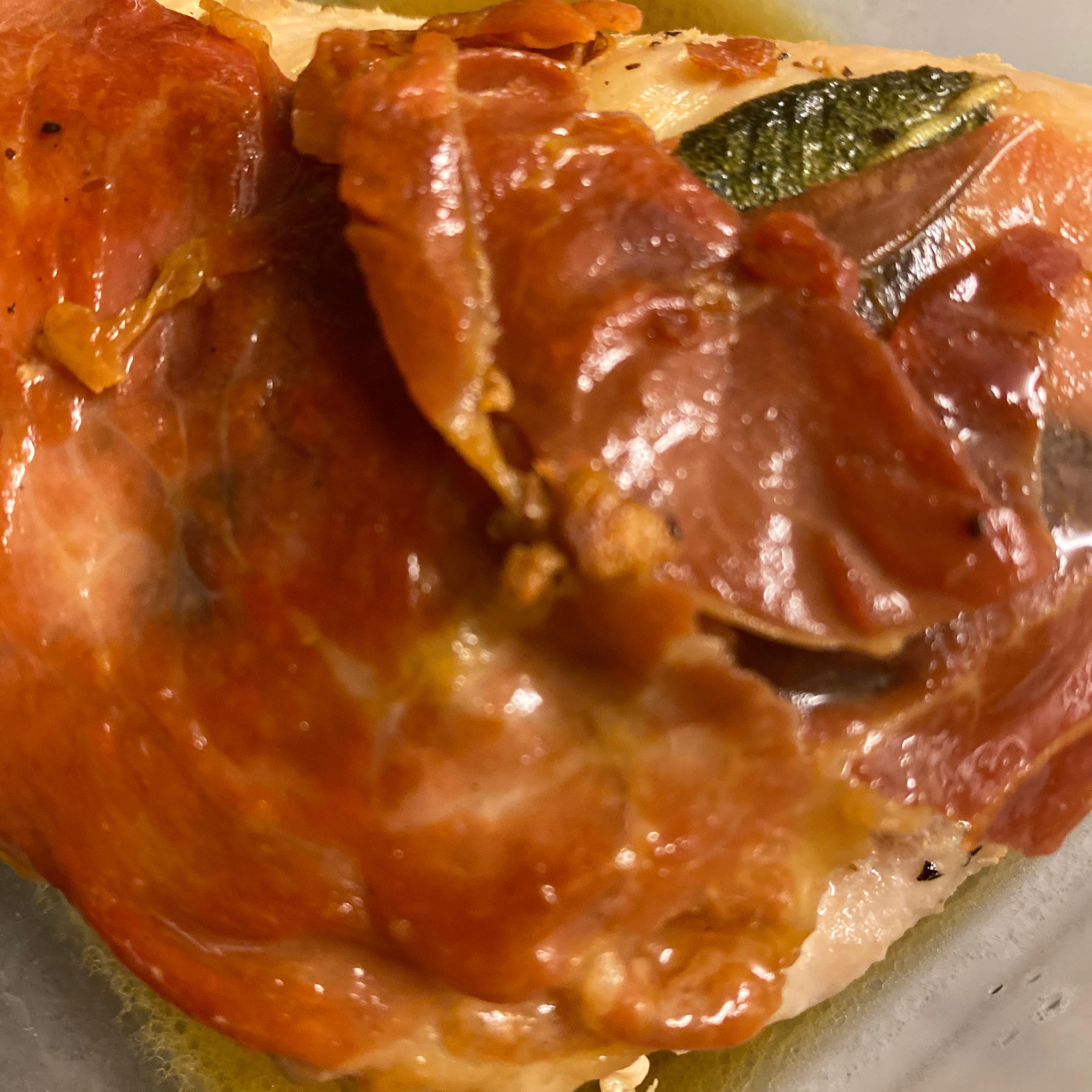 Sandy's Chicken Saltimbocca Drake Kohn