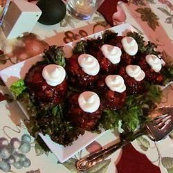 Cranberry Gelatin Salad I ModernSteph