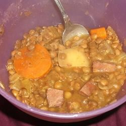 German Lentil Soup Tanya